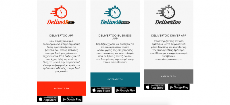 Eat, Business, Driver mobile apps